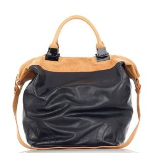 3.1 Phillip Lim • Tally Leather Tote Midnight Blue